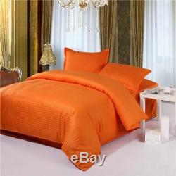 1 Pcs Duvet Cover Cotton Satin Fabric Printed Bedding Case Queen King Twin Full