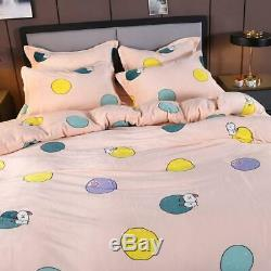1PC Duvet Cover Coral Fleece Fabric Suitable for All Season Bedding Set with