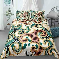 2/3Pcs Covers Duvet Cover King Size Queen Sizes Comforter Sets Microfiber Fabric