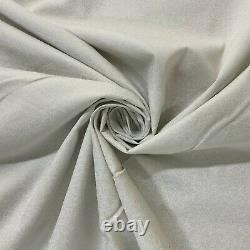 45 100% Cotton Lacquer Paste Printed Fabric Craft Floral Material D#272 Ivory