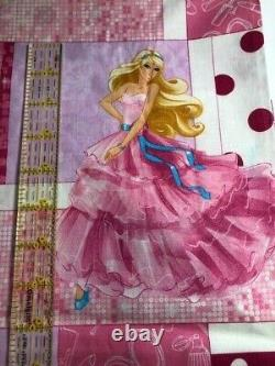 BARBIE PATCH COTTON FABRIC Out of Print 7 3/4 yards almost full bolt