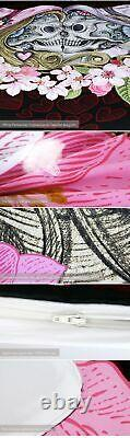 Bedding Set Duvet Cover Bedclothes Skull Couples Microfiber Fabric Bed Accessory