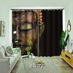 Characters are full of romanticism Printing 3D Blockout Curtains Fabric Window