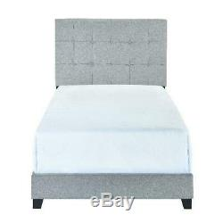 Crown Mark Florence Gray Panel Bed Full