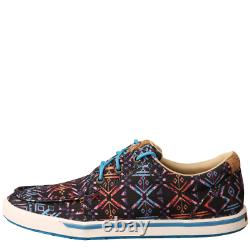FULL BOX & NEW Women's Aztec Lace Up Sneaker Casual Shoes