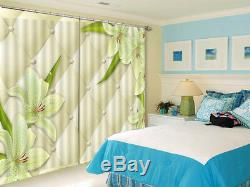Full Of Fragrance 3D Blockout Photo Curtain Print Curtains Fabric Kids Window
