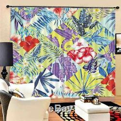 Garden Is Full Of Flowers 3D Blockout Photo Print Curtain Fabric Curtains Window