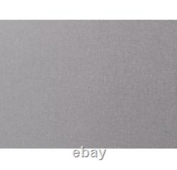 Multi Size Crown Mark Mattresses Panel Bed Upholstered Tufted Headboard, Gray NEW