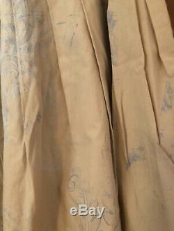 New Man French Skirt Hand Dyed Fabric Pleated Full Skirt High End European