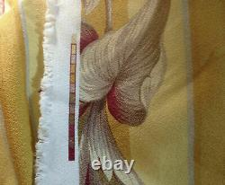 Out Print FULL SWING Vintage Style Banana Bacal Yellow Barkcloth Fabric 54W