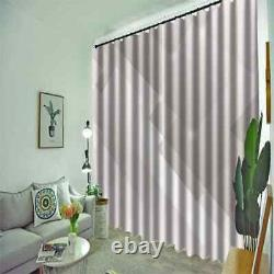 Pale purple with full vitality Printing 3D Blockout Curtains Fabric Window