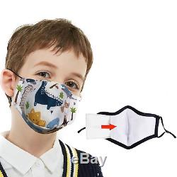 Personalized Kids Face Mask Printed with your Logo / Design in Full Color 50 QTY