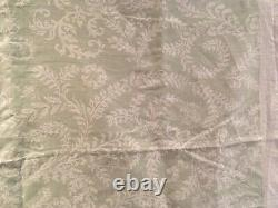 Raoul Fabric Morelia Natural Linen Fabric Pale Mint Printed Piece L140cm full W