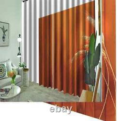 Slender ears of wheat full of life Printing 3D Blockout Curtains Fabric Window